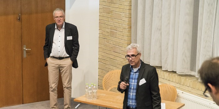 Professors Eckhard Quandt and Nini Pryds at the Danish Days 2017