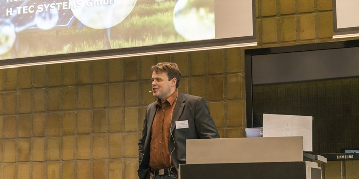 Frank Allebrod at the 2018 DTU Energy PhD Symposium