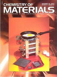 Front page of Chemistry of Materials, volume 15, number 26 (2003)