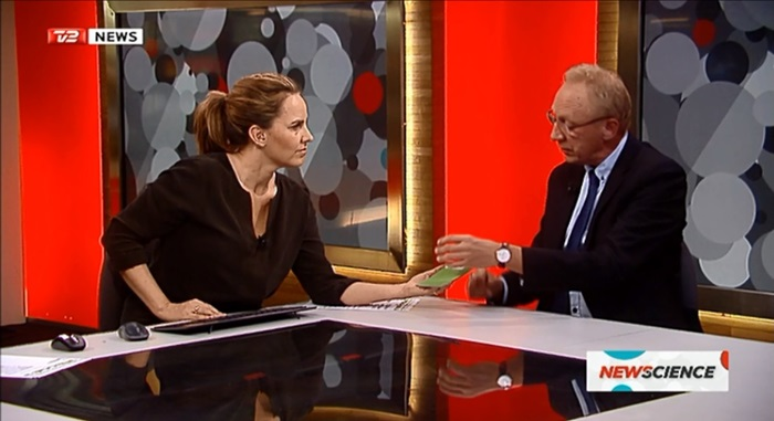 Head of DTU Energy Søren Linderoth commented on COP21-initiative on TV2 News