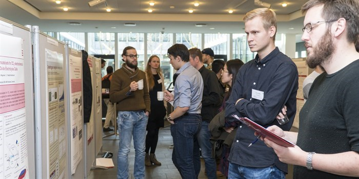 Poster session at the 2018 DTU Energy PhD Symposium