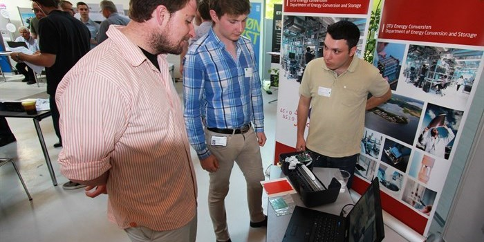 Interest in the research results of DTU Energy Conversion