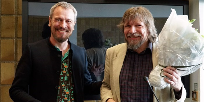 Inaugural of professors Poul Norby and Jens Wenzel Andreasen March 2017